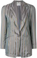 Forte Forte striped fitted blazer