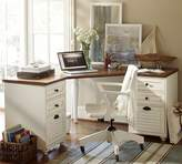 Pottery Barn Whitney Corner Desk Set