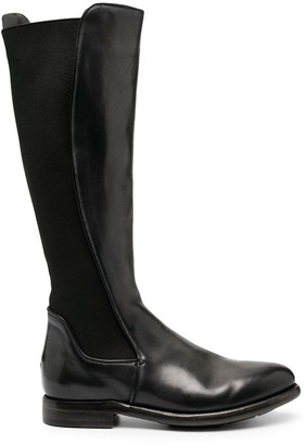 Silvano Sassetti Leather Riding Boots