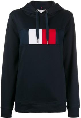 Tommy Hilfiger Branded Long-Sleeved Hoodie
