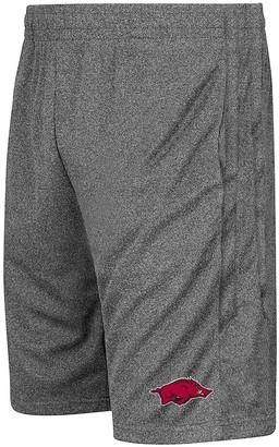 Colosseum Men's Heathered Charcoal Arkansas Razorbacks Sidler Shorts