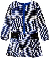 Kenzo Amy Dress (Toddler/Kid) - Royal Blue - 6 Years