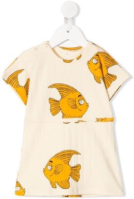 Mini Rodini Fish-Print Dress