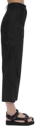 Prada Nylon Gabardine Pants