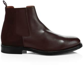 Aquatalia Giancarlo Leather Chelsea Boots