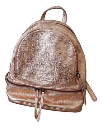 Liebeskind Berlin Metallic Leather Backpacks
