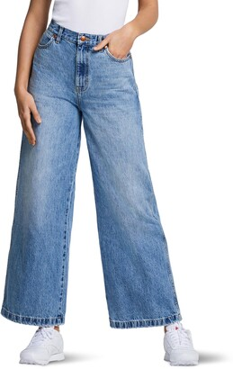 Wrangler High Waist Wide Leg Jeans