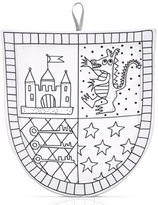 Marielle Bazard Déguisement é colorier avec 4 feutres bouclier du chevalier White