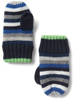 Gap Crazy stripe mittens
