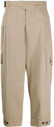 Dolce & Gabbana Cropped Chino Trousers