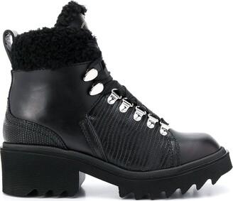Chloé Bella shearling boots