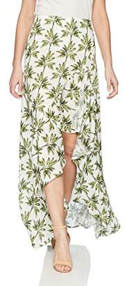 Show Me Your Mumu Women's Salsa Skirt with Ruffle and Slit
