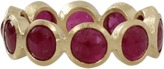 Todd Reed Cabochon Ruby Eternity Ring