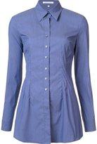 Walter Voulaz - slim-fit shirt - women - Cotton/Spandex/Elastane/Polyimide - 46