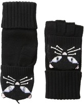Kate Spade Cat Pop Top Mitten Extreme Cold Weather Gloves