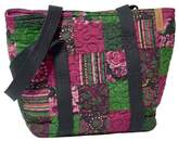 Donna Sharp Women's Medium Patched Tote