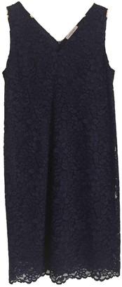 Gerard Darel Navy Lace Dress for Women