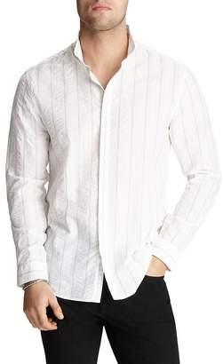 John Varvatos Collection Striped Slim Fit Shirt