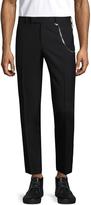 The Kooples Men's Stiff Mohair Wool Straight Trousers