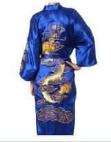 ACVIPen's Satin Gold Dragon Sleepwear Bathrobe