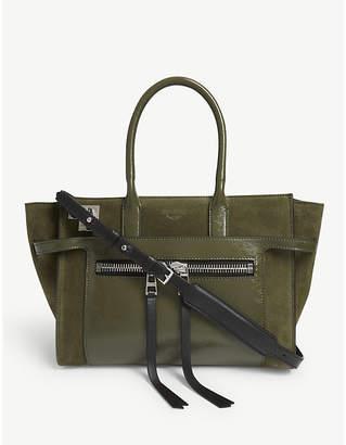 Zadig & Voltaire ZADIG&VOLTAIRE Medium Candide leather tote bag