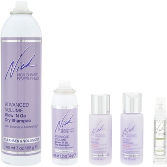 Nick Chavez Advanced Volume Blow 'N Go Cleanse & Style Kit