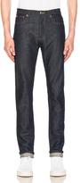 A.P.C. Petit New Standard Jean in Blue.