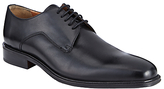 John Lewis Haslett Leather Derby Shoes, Black