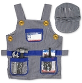 Melissa & Doug Kids Costume, Train Engineer Dress-Up Set