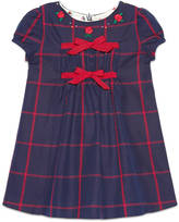 Gucci Baby check cotton dress