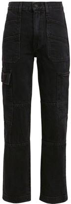 SLVRLAKE Savior High-Rise Cargo Jeans
