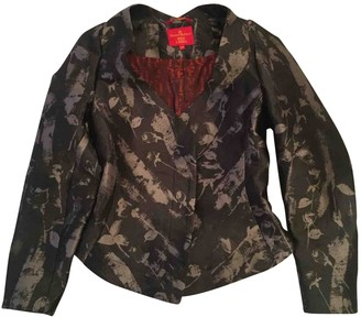 Vivienne Westwood Anthracite Polyester Jackets
