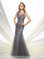 Montage By Mon Cheri - 216964 Dress In Gray