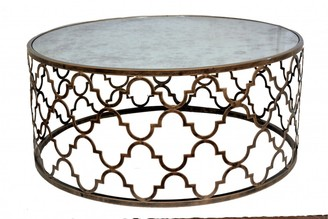 Tantra Quadrefoil Coffee Table Antique Gold