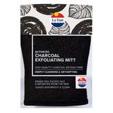 Le Tan Activated Charcoal Exfoliating Mitt 1 ea