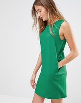 Ichi Sleeveless Shift Dress