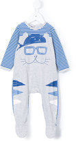 Little Marc Jacobs cat pyjama - kids - Cotton - 1 mth