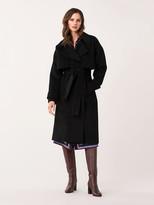 Diane von Furstenberg Fann Wool Belted Coat