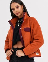 The North Face Cragmont fleece jacket in orange
