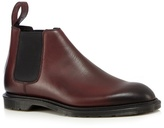 Dr Martens Plum 'wilde' Chelsea Boots