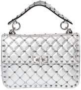 Valentino Medium Metallic Leather Shoulder Bag
