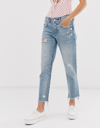 We The Free By Free People by Free People Good Times crop rigid relaxed jean