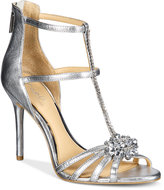 Badgley Mischka Hazel Strappy Evening Sandals