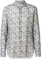 Barba printed long sleeved shirt
