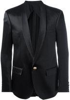 Balmain single button blazer - men - Silk - 50