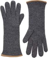 Barneys New York Women's Double-Knit Gloves