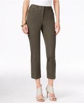 Alfani Slim-Leg Capri Pants, Only at Macy's