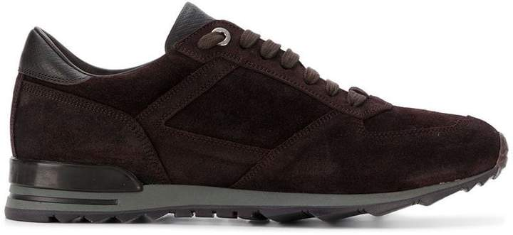 Canali low top trainers