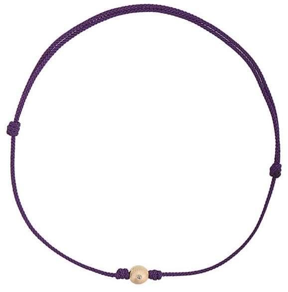 Luis Morais small mini flower cord bracelet