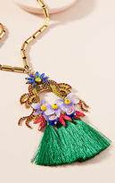 Elizabeth Cole Jayla Flower Pendant Necklace
